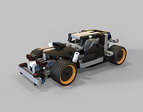 3D asset Lego Getaway racer