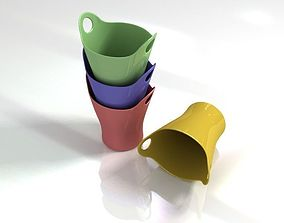 Italy Alessi trash can 3D model design