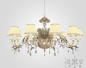Masiero 6020 S12 chandelier 3D model