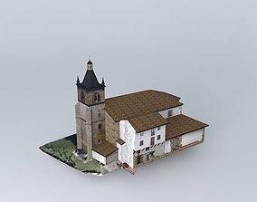 3D model Zerain church