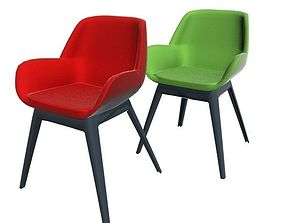 3D model Kartell Clap Chair