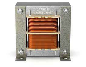 Transformer Shell Type 3D model