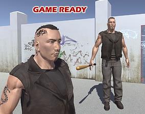 3D asset Tough guy