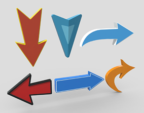 3D model Arrow Pack