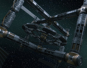 3D Space Station Variant B Class