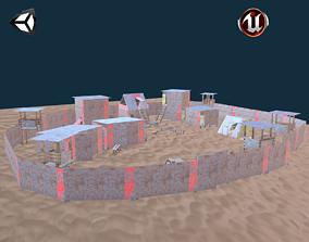 Survivors Camp 3D asset