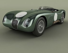 Jaguar C-Type 3D