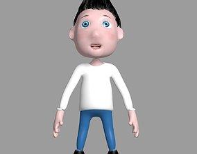 avatar 3D asset Boy Cartoon model