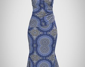 Ladies Gown 3D model
