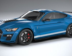 3D model Ford Mustang GT500 Shelby 2020