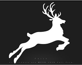 Reindeer 02 3D model