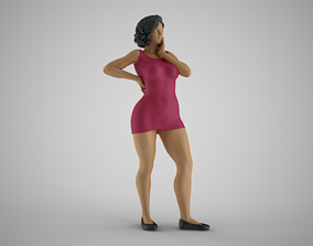 3D printable model Girl Watching Over