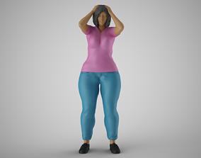 3D printable model Woeful Woman