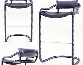 Ochre - Caribou bar stool 3D