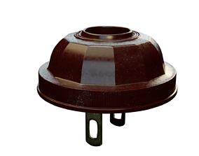 3D model Vintage 1930 bakelite power plug