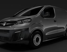 3D model Vauxhall Vivaro L1 2019