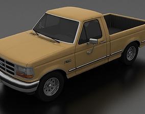 F-150 Pickup 1992-1997 Regular Cab Short Box 3D model