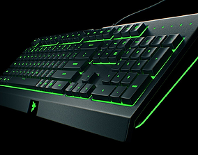 RAZER cynosa chroma pro keyboard 3D