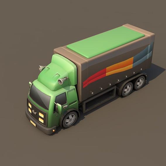 Toon Truck 10 Wheeler