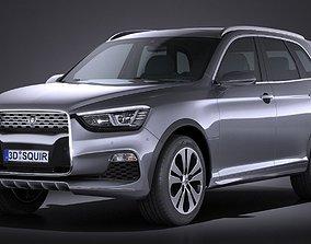 Generic SUV v2 2016 3D model