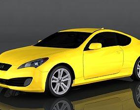 3D model Hyundai Genesis Coupe