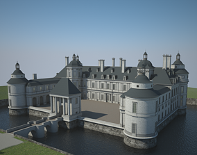 Old Chateau II 3D model