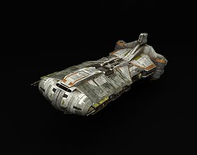 Star Wars Command Ship Phoenix Home 3D model animated