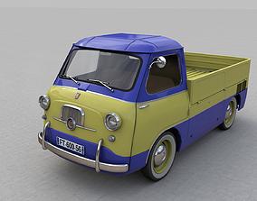 FIAT 600 MULTIPLA CORIASCO PICKUP 1956 3D classic