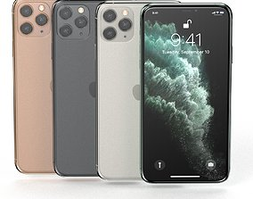 3D Apple IPhone 11 Pro Collection