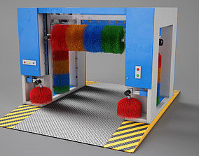 3D model veichle Car Wash