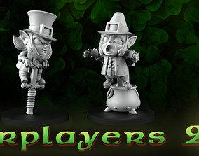 starplayers 2 leprechauns 3D print model
