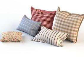 Set of pillows 3D model