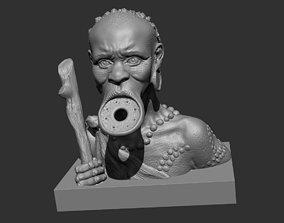 3D printable model Mursi Statuette