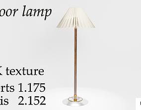 3D asset game-ready Floor lamp