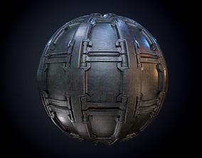 Sci-Fi Military Seamless PBR Texture 61 3D