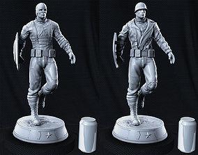 3D print model Captain America Statue