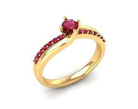 3D print model 856 Diamond Ring