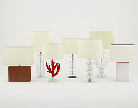 Table Lamps by ZARA HOME 3D model