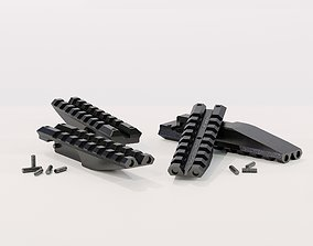 Picatinny on Ironsight 3D model