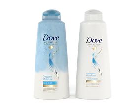 3D Dove Nutritive Solutions Oxygen Moisture Shampoo