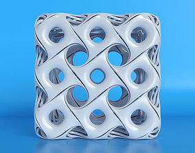ornamental cube 3D model