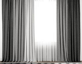 room Curtain 57 3D model