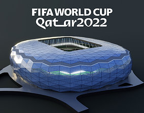 3D Education city stadium 2022 fifa world cup