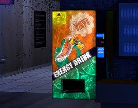 Vending Machine 3D asset