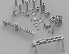 3D print model Infrastructure and Objectives Pack 03