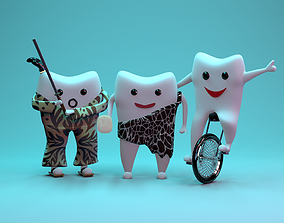 tooth family 3D