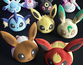 3D model pokemon kids bundle playroom
