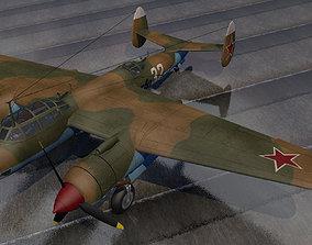 3D model Tupolev TU-2