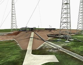Launch Complex 39B Clean Pad 3D model
