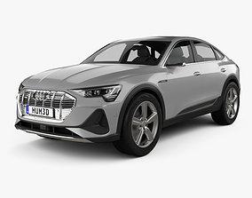 Audi e-tron sportback S-line coupe 2020 3D